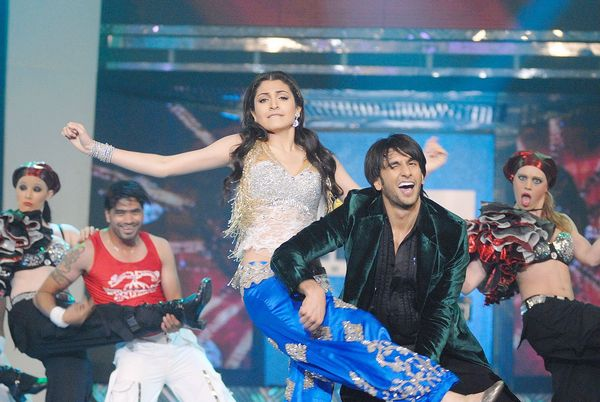 Anushka Sharma and Ranveer Singh in 2011
