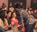 Ranveer Singh, Deepika Padukone, Anisha Padukone at Filmfare Awards 2014