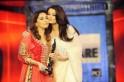 Madhuri Dixit and Aishwarya Rai