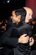 Anupam Kher and Dhanush