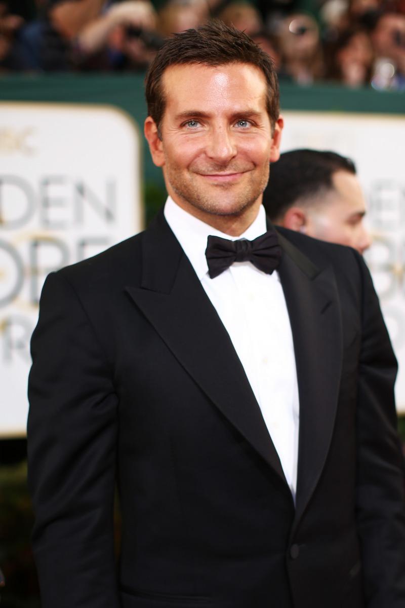 Bradley Cooper at the Golden Globes