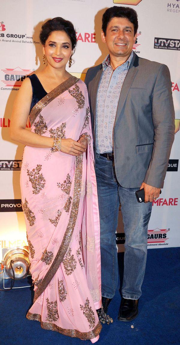 Madhuri Dixit-Nene and husband