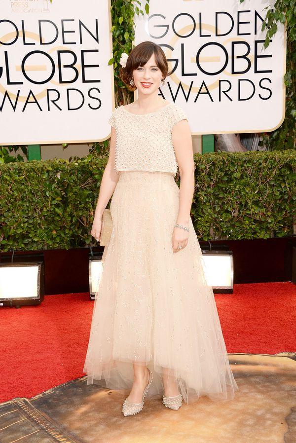 Red Carpet Fashion At Golden Globes 2014 Indiatimes Com