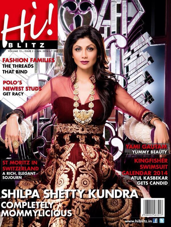 Shilpa Shetty for Hi! Blitz
