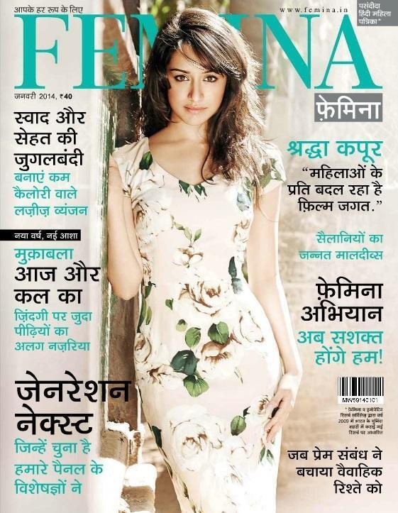 Shraddha Kapoor for Femina