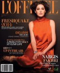 Nargis Fakhri for L'Officiel