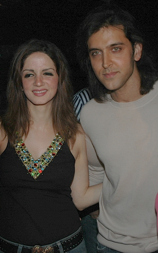Sussanne and Hrithik Roshan