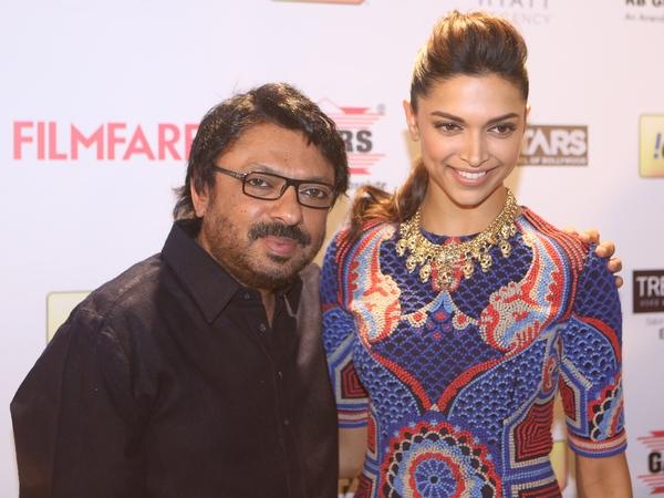 Deepika Padukone and Sanjay Leela Bhansali