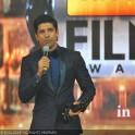 Farhan Akhtar wins Best Actor for Bhaag Milkha Bhaag at the 59th Idea Filmfare Awards in Mumbai at YashRaj Studios