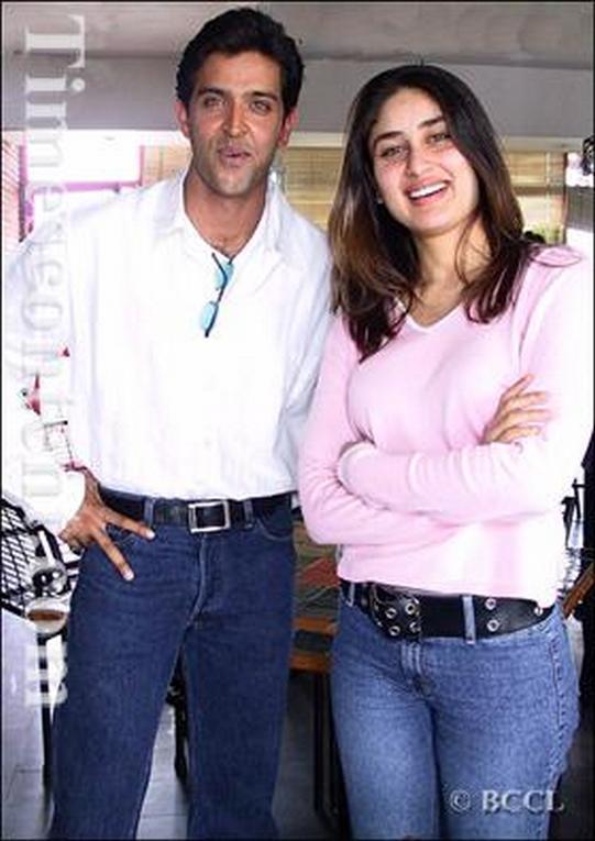 Hrithik Roshan and Kareena Kapoor