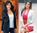 Katrina Kaif and Zarine Khan