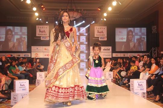 Krystle Dsouza walks the ramp at Day 2 of India Kids Fashion Week