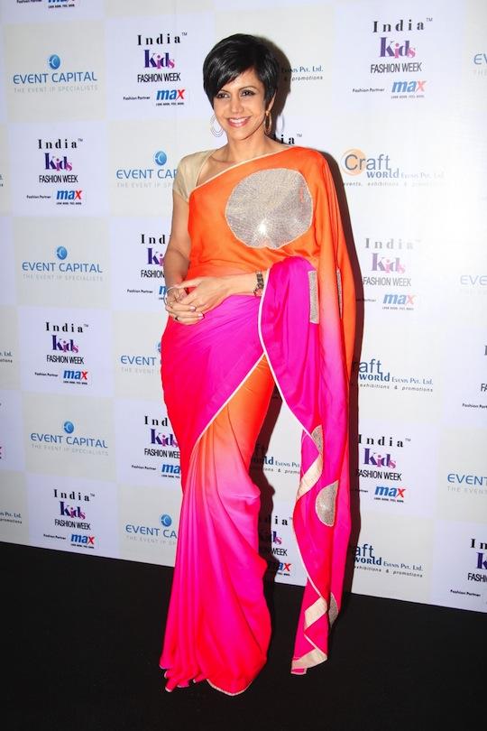 Mandira Bedi at Day 1 of India Kids Fashion Week