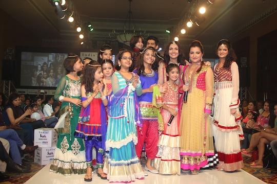 Mansi Kapadia shpwcases her collection at Day 2 of India Kids Fashion Week