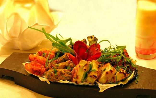 Tandoori platter