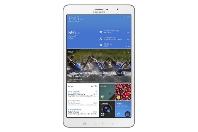 Samsung Galaxy Tab Pro 8-Inches runs on the latest Android version Android KitKat 4.4.