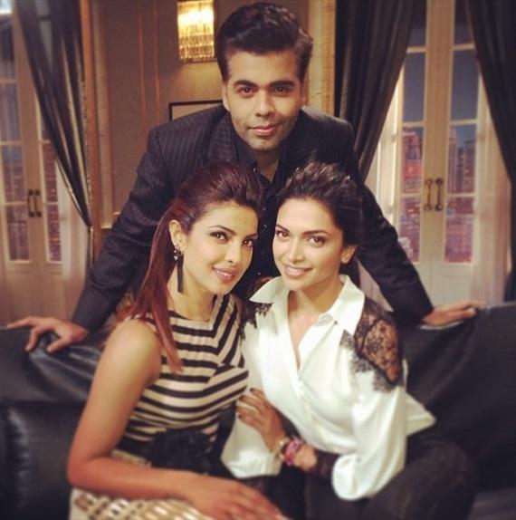 Deepika Padukone and Priyanka Chopra on Koffee With Karan
