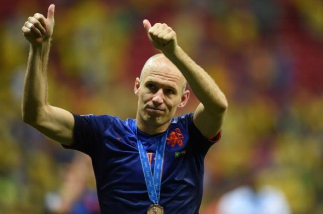 BRONZE BALL: Arjen Robben (Netherlands)