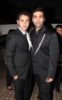 Armaan Jain and Karan Johar