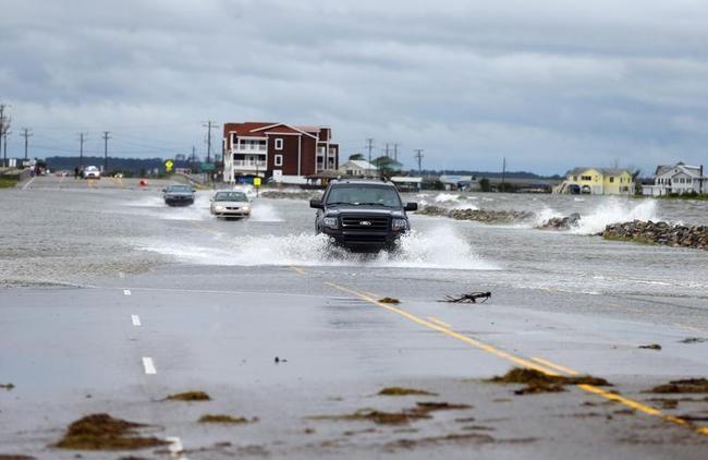 USA Braces for Hurricane Arthur: PICS