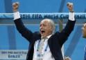 Argentina's coach Alejandro Sabella