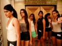 Lakme Fashion Week: Aspiring Models Get Ready to Walk the Ramp