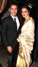 Armaan Jain and Rekha