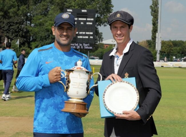 Derbyshire v India - Tour Match