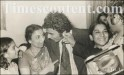 Sunil Gavaskar with his mother Meenal