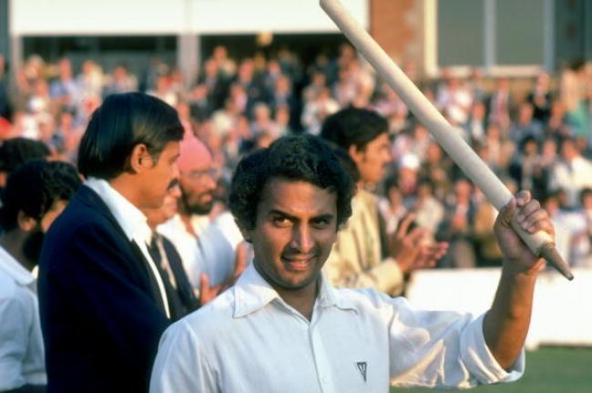 Sunil Gavaskar of India
