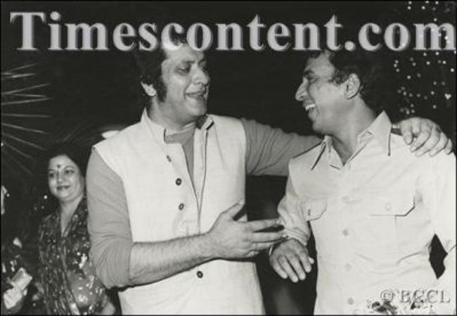 Manoj Kumar-Sunil Gavaskar-Shashi