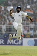India cricketer Sourav Ganguly celebrate