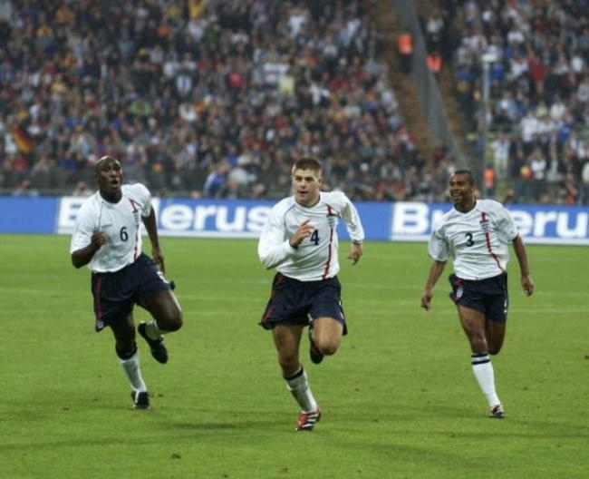 Sol Campbell, Steven Gerrard, Ashley Cole