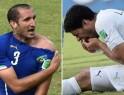 VILLAIN: Luis Suarez (Uruguay)