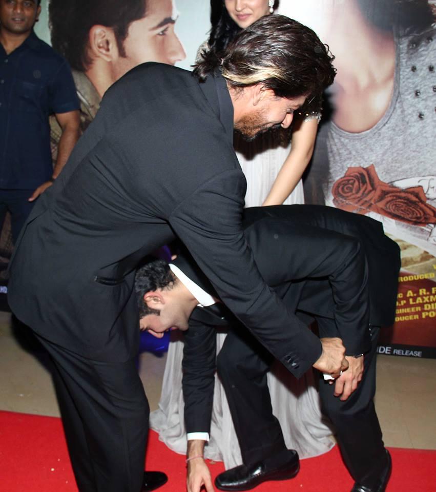 Armaan Jain, Shah Rukh Khan