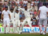England finished the first day at 247 for two after a fine century from Gary Ballance and 95 from Alastair Cook against India in the third Test at Southampton.
