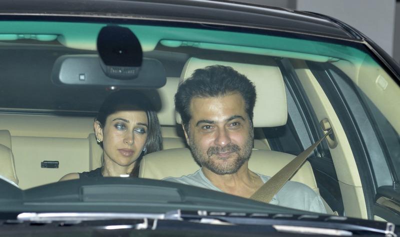 Karishma Kapoor and Sanjay Kapoor