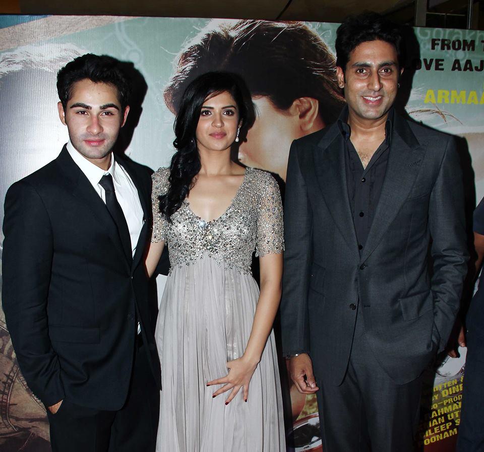 Abhishek Bachchan, Armaan Jain and Deeksha Seth