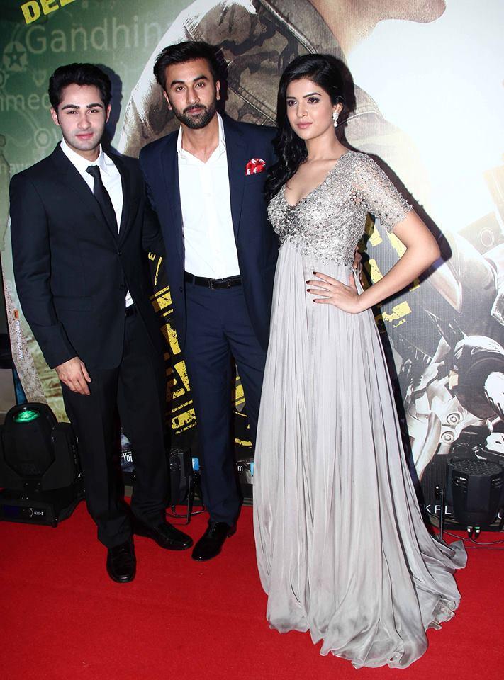 Ranbir Kapoor, Armaan Jain and Deeksha Seth