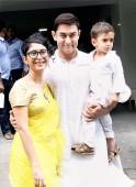 Aamir Khan, Kiran Rao and Azad