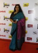 Ambika at the 61st Idea Filmfare South Awards 2013