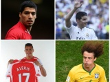 Let us look at the top football transfers in 2014-15.