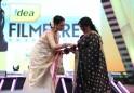 Jayabharathy veteran Malayalam actress receives Lifetime Achievement Award from Rekha