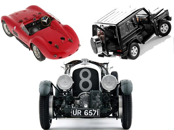 You may have missed the chance to own a 1929 Bentley, but a  true luxury lover knows that a scaled-down model car is an equally  important collectible.
