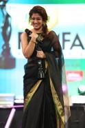 Nayantara received Best Actor (Female) (Tamil) Award for film (Rajarani)
