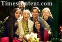 Zohra Sehgal, Roysten Abel, Shabana Azmi, Nandita Das, Anastasia and Mandakini