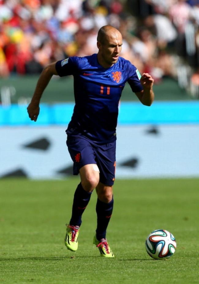 The Blue Panther, Arjen Robben, Netherlands