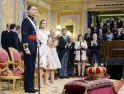 Spain's New King Felipe VI Sworn In: PICS