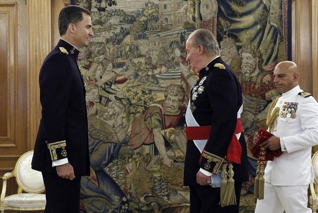 Juan Carlos, Felipe VI