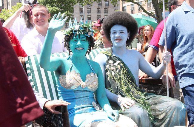 Mermaid Parade in New York
